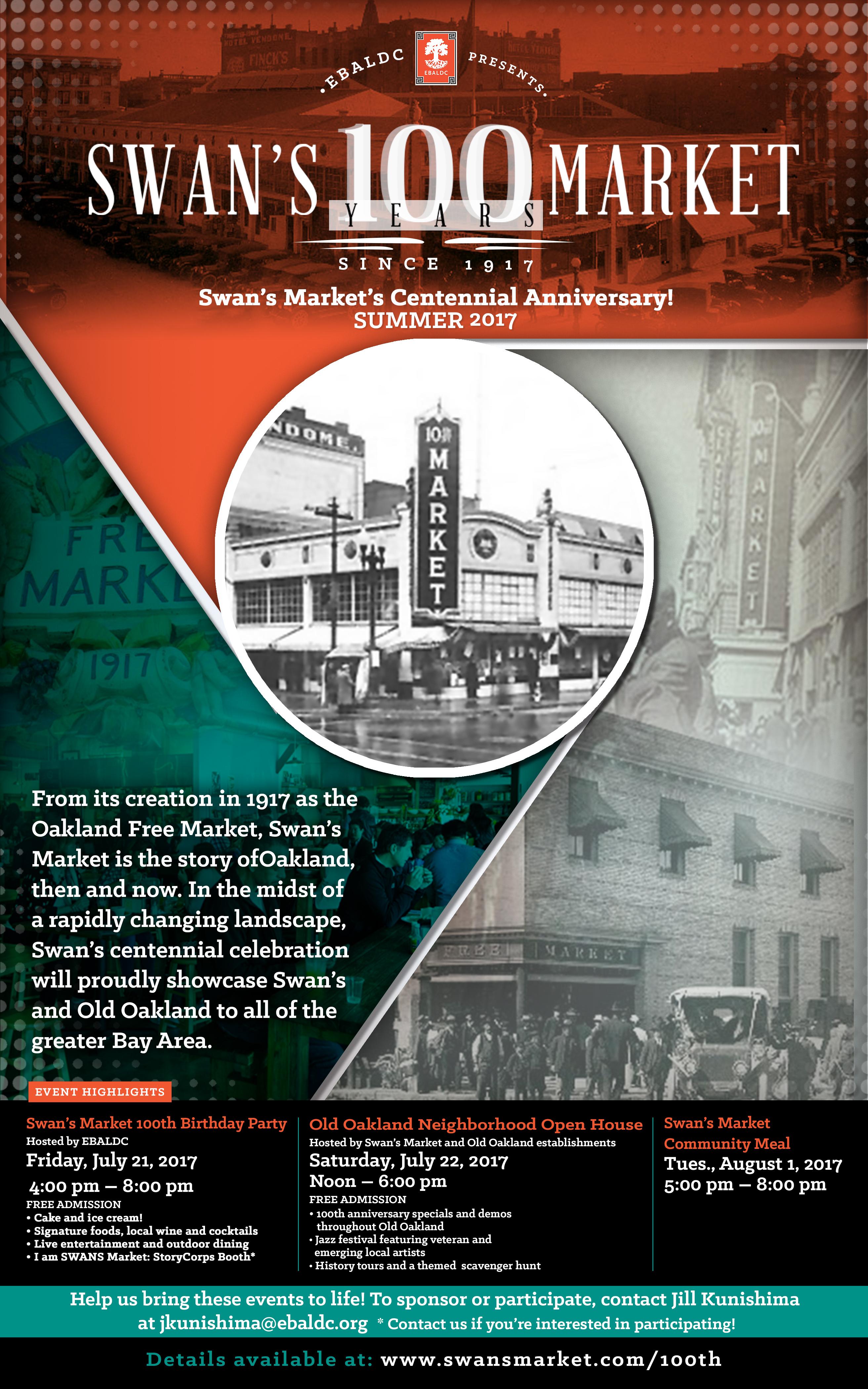 Swan's Market 100 Years Celebration